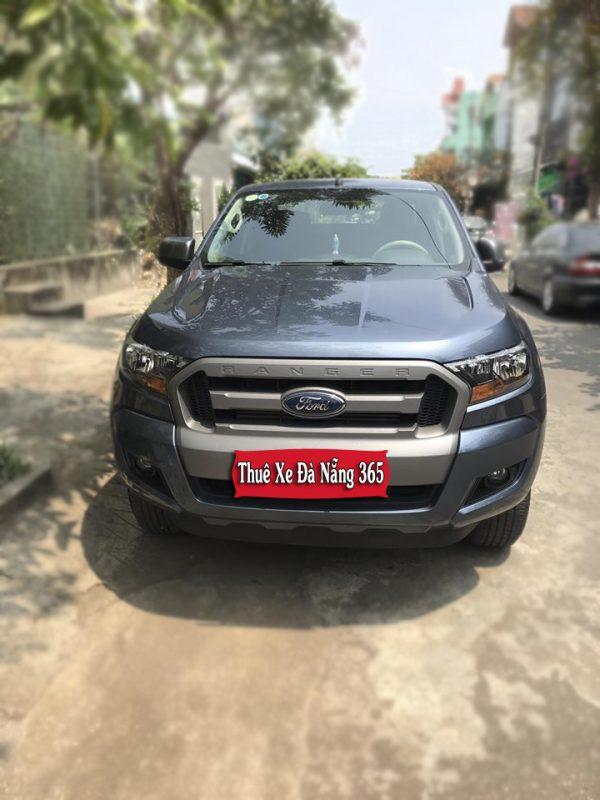 Thuê xe tự lái bán tải Đà Nẵng Ford Ranger